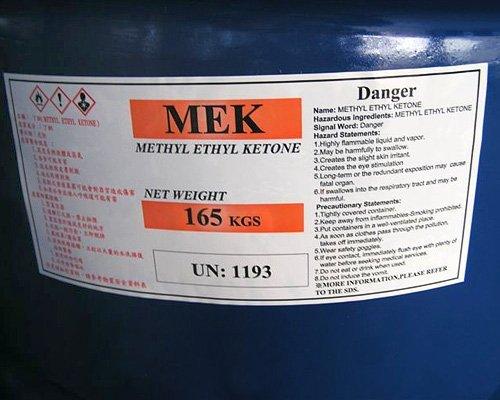MEK is a health hazard
