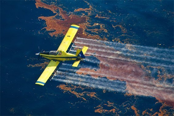 dispersant aerial spraying
