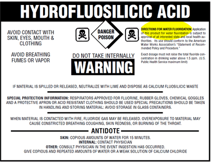 Example Chemical Label