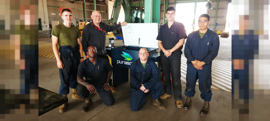 Purasolve technology provides health & safety benefits for US Marines in Darwin